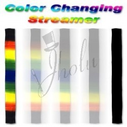 Chalina de Seda Multicolor Camaleón (Chameleon Rainbow Silk Streamer)