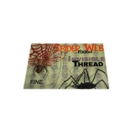 Hilo Invisible Fino (Invisible Thread Spider Web Fine)