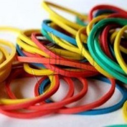 Ligas de Colores - Gomitas o Banditas (Colour Rubber Band)